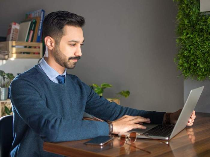 Dressing up when working from home can boost your morale